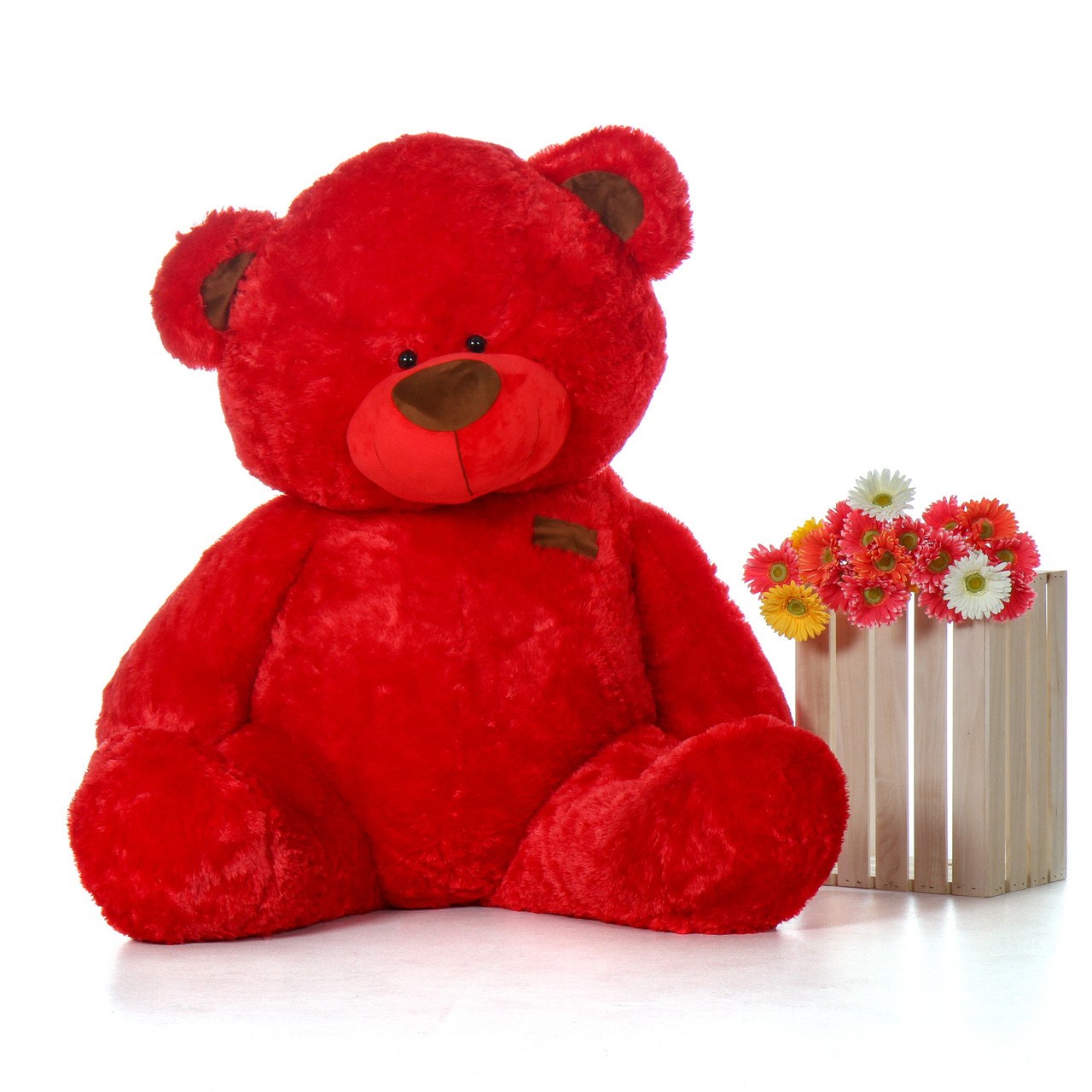 Premium Quality Giant Red Teddy Bear