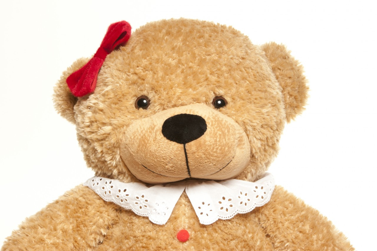 2 Foot Amber Brown Christmas Gingerbread Teddy Bear