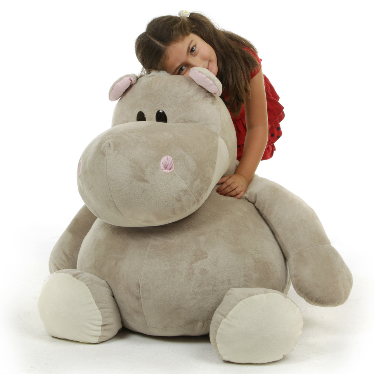 Giant Hippo Stuffed Animal by Giant Teddy