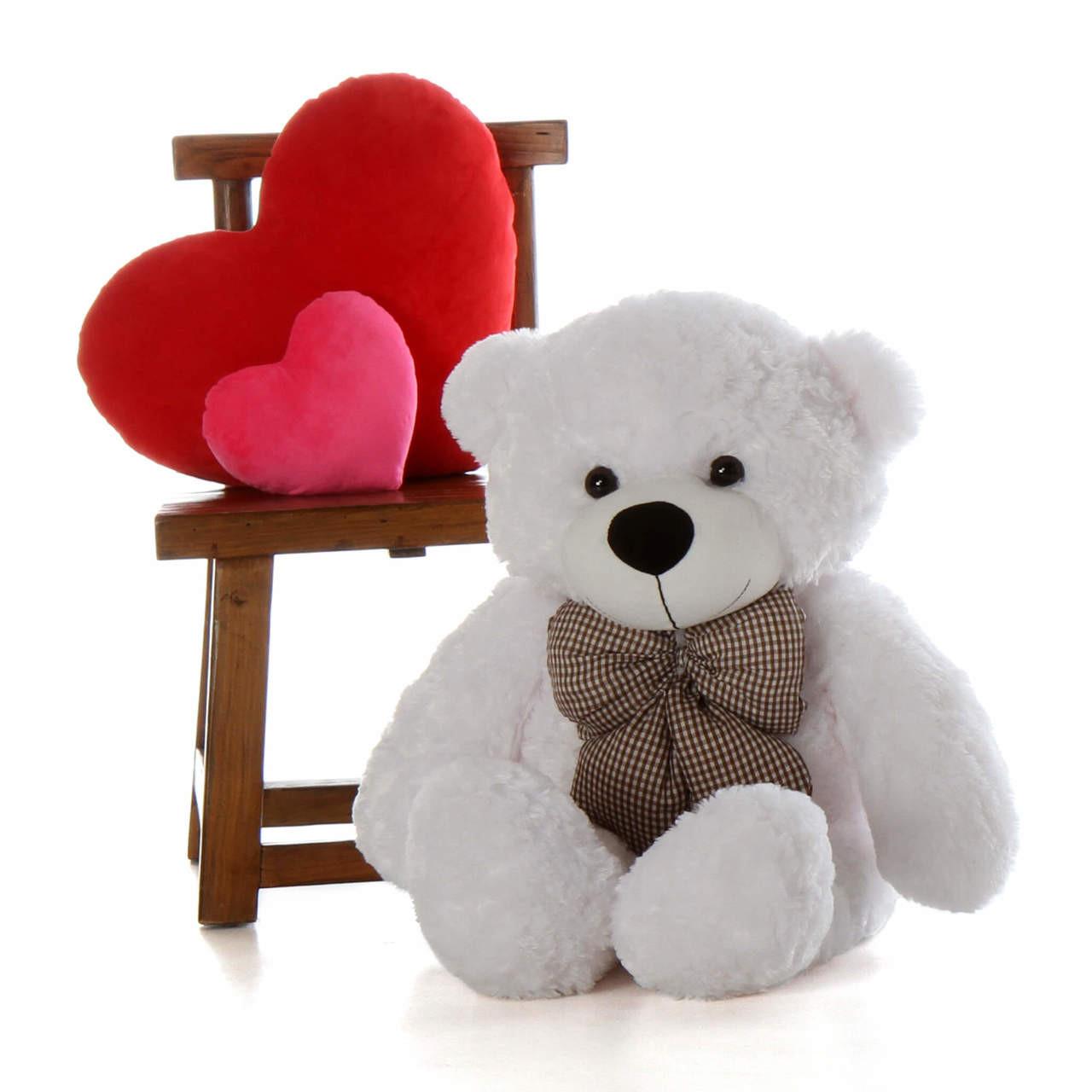 3ft Huge White Teddy Bear Coco Cuddles