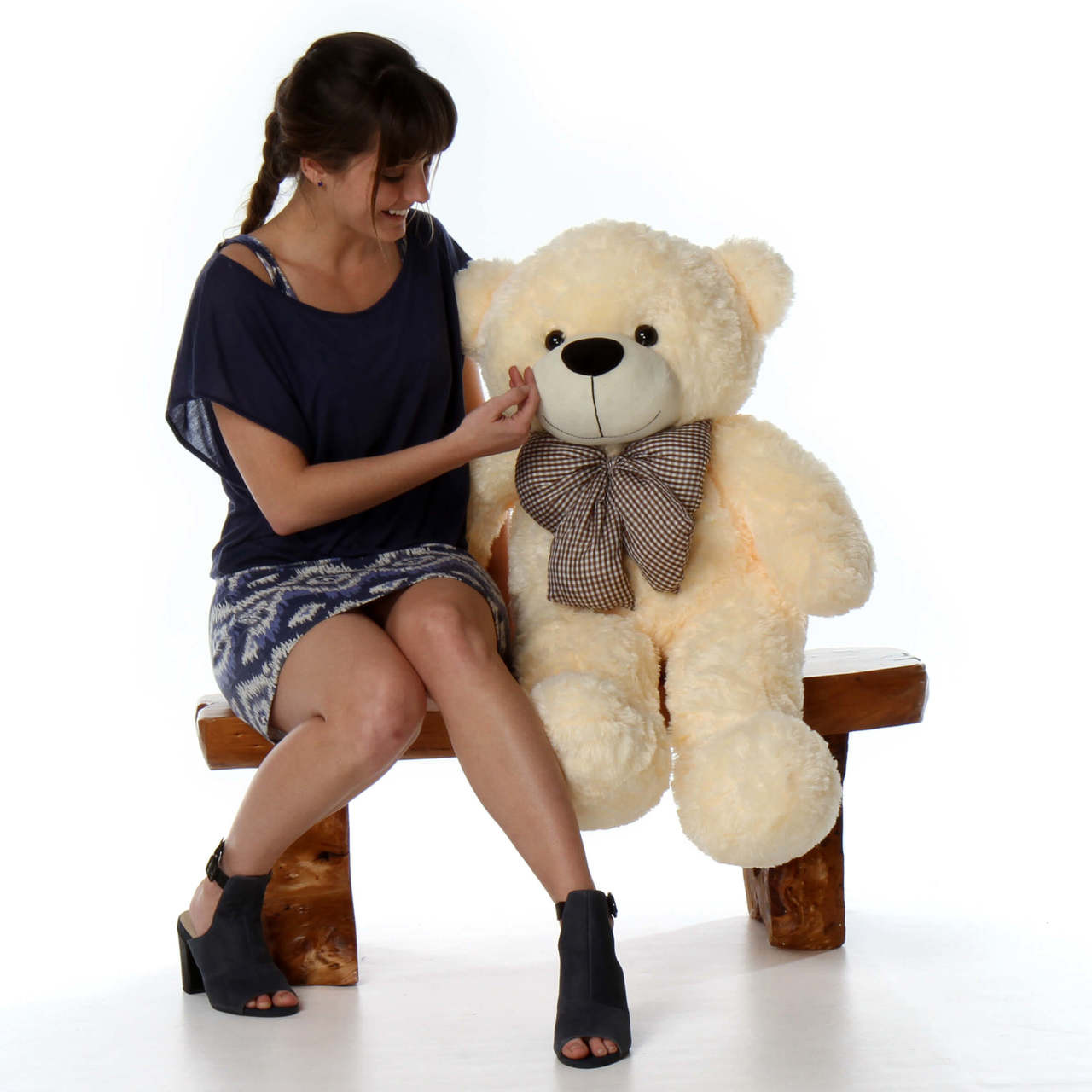 38in Huge huggable  gift Teddy Bear Cozy Cuddles