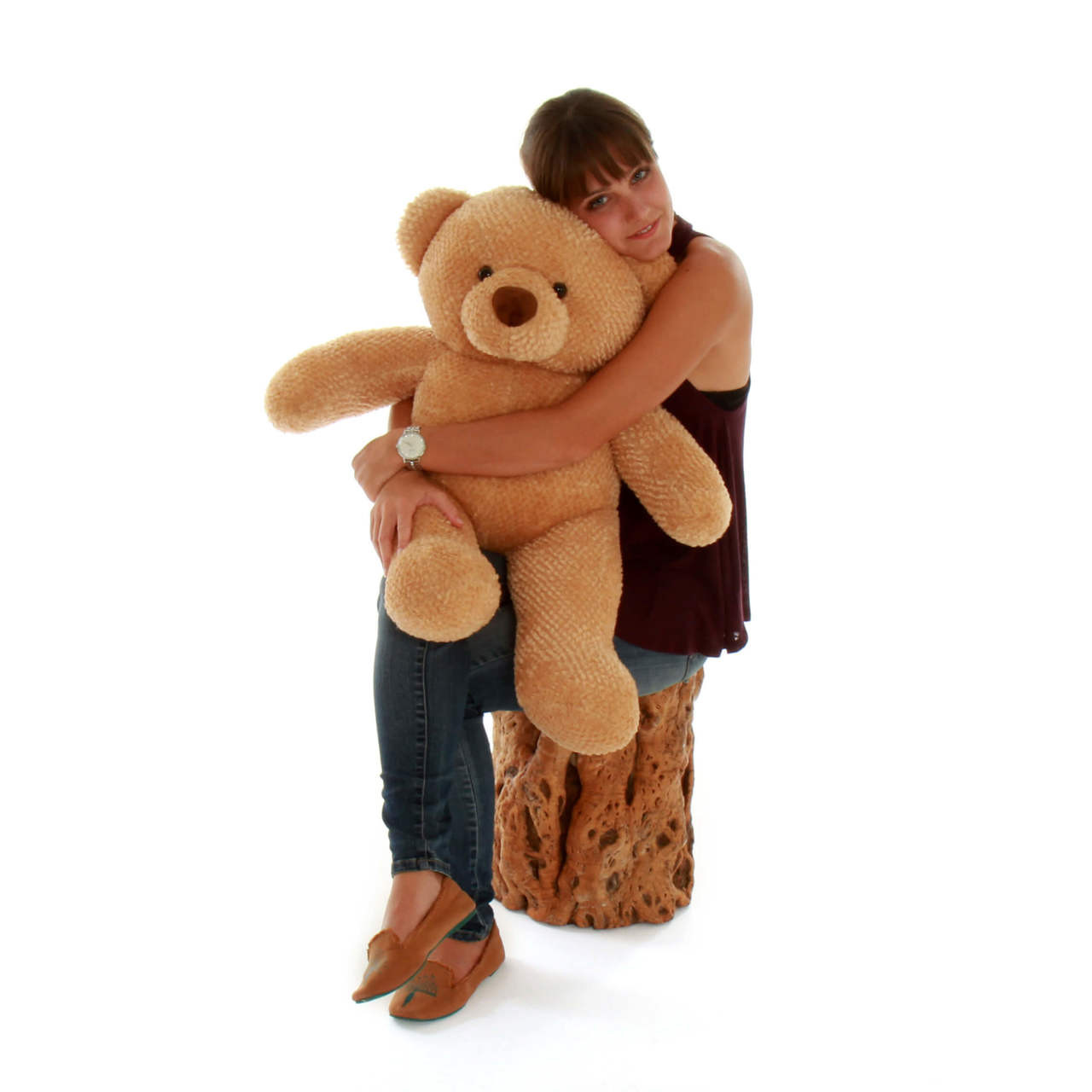 Cutie Chubs Extra Plump and Adorable Amber Teddy Bear 30in