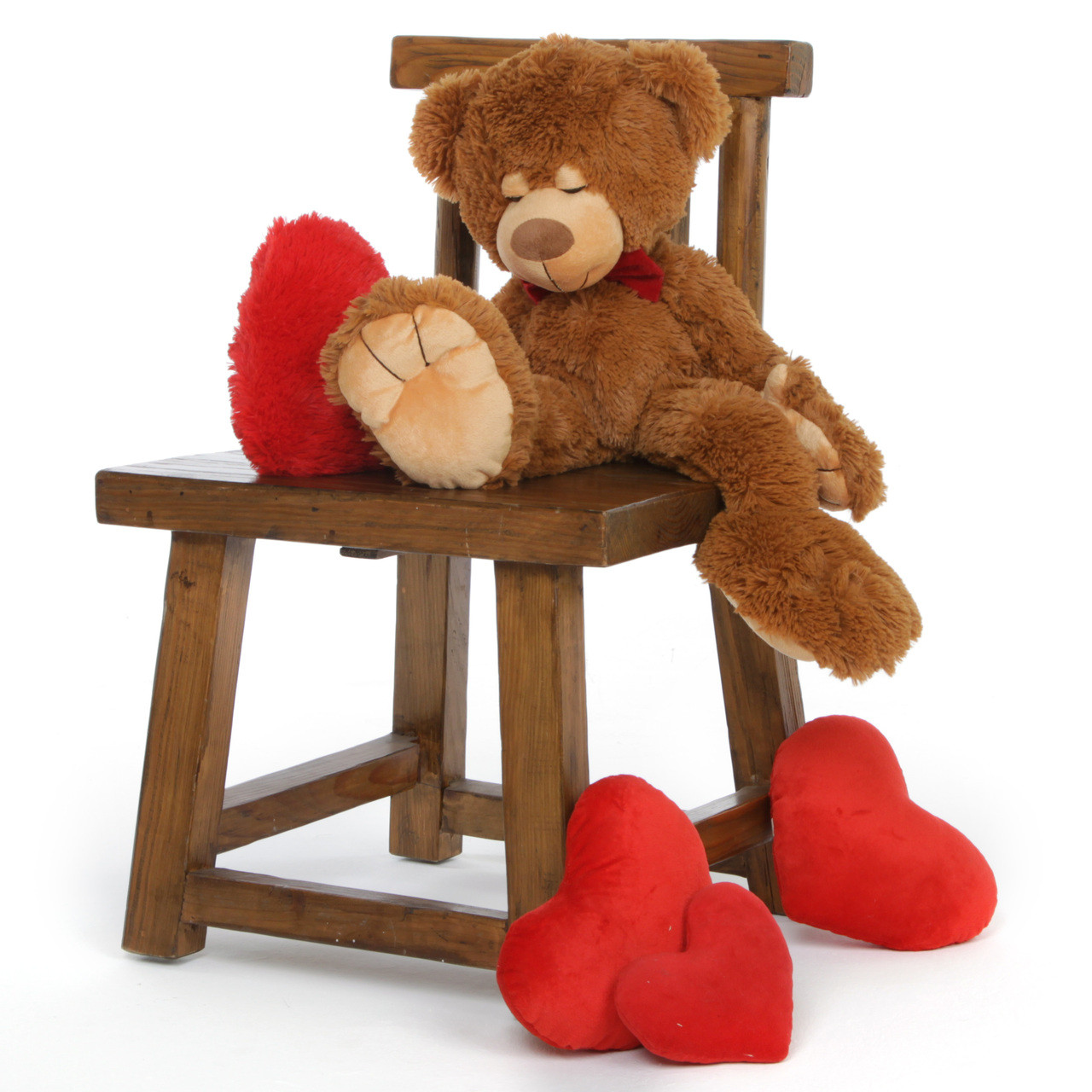24'' Chester mitten Big Valentines day Teddy bear