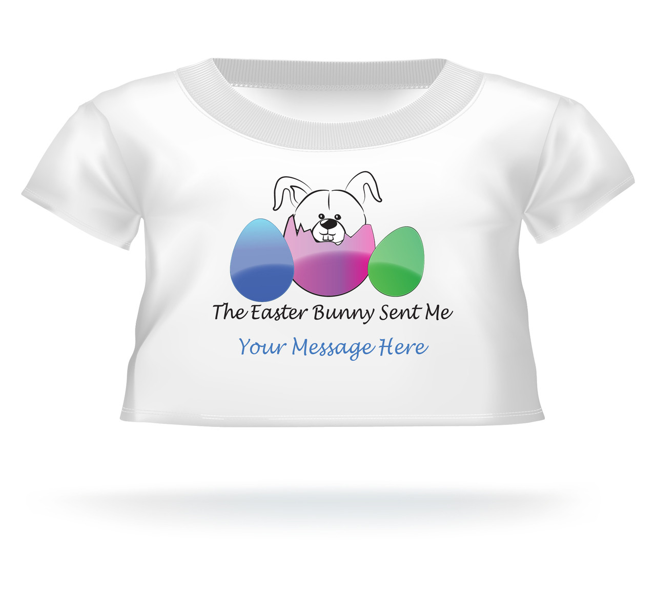 """""""The Easter Bunny Sent Me"""" Giant Teddy Bear Personalized Easter shirt"""