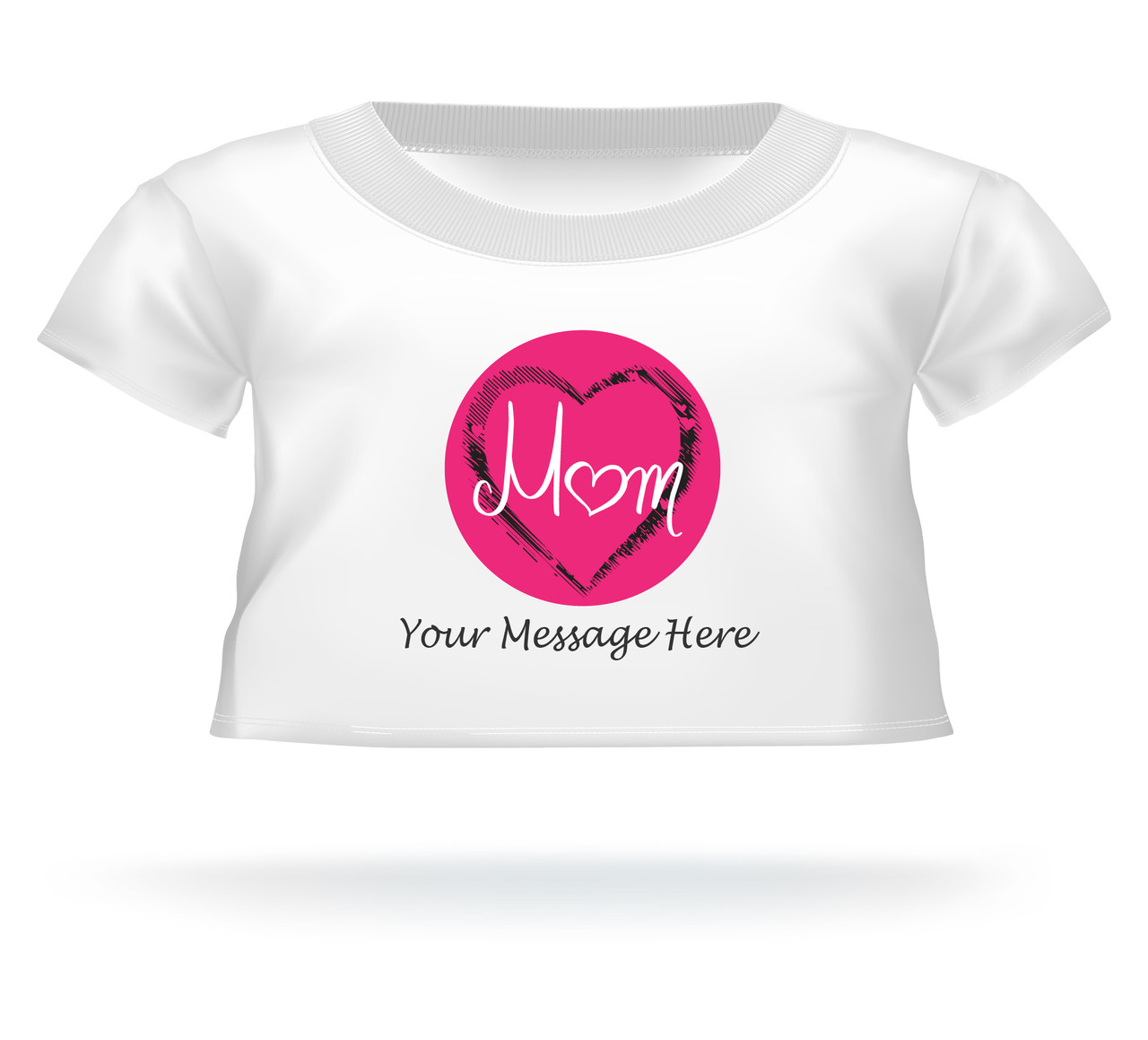 Mom Personalized Giant Teddy Bear shirt