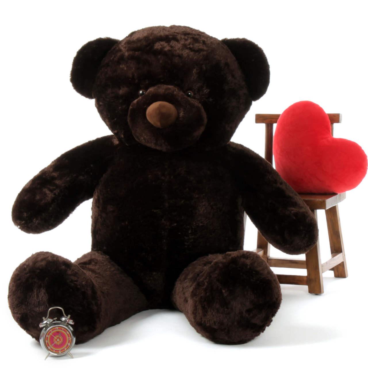 6ft most adorable Munchkin Chubs Dark Brown Teddy Bear