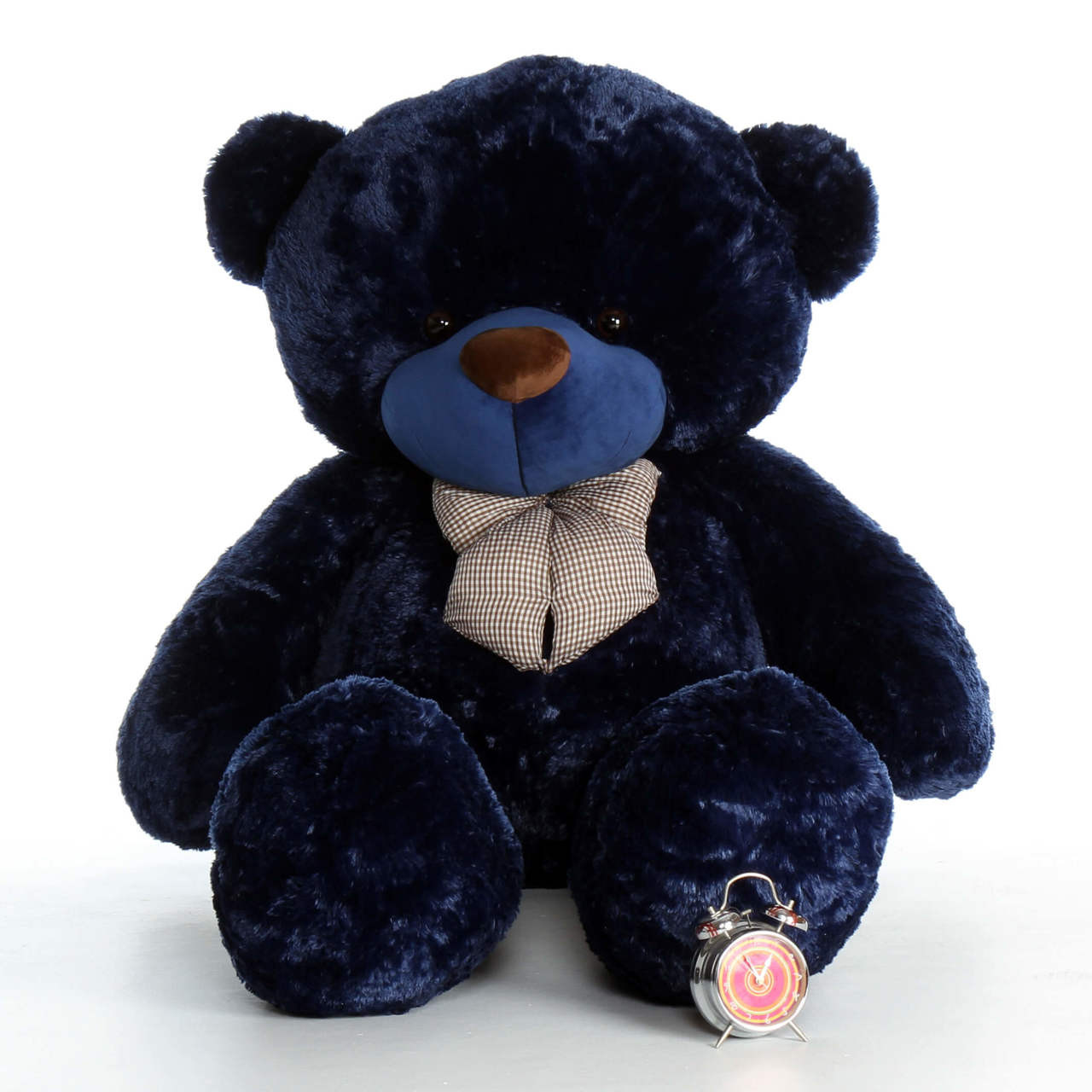 Life Size Navy Blue Teddy Bear Royce Cuddles