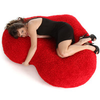 5 foot Giant Valentines Day Heart Cushion