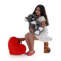 20in Quincy Stuffed Koala live