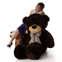 5ft Brownie Cuddles Chocolate Brown Teddy Bear