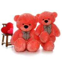 Super Soft Adorable Unique 6 Foot Bubble Gum Pink Teddy Bear