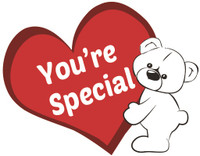 Your are Special Teddy Bear T-shirt