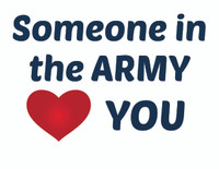Someone in the Army Loves You Teddy Bear T-shirt