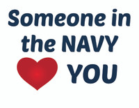 Someone in the Navy Loves You Teddy Bear T-shirt
