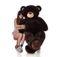 Giant 6 Foot Premium Quality Big Plush Stuffed Animal by Giant Teddy Brand