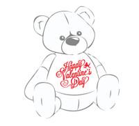 Happy Valentine's Day Teddy Bear Shirt
