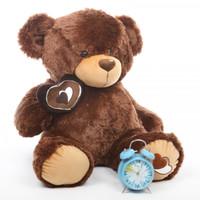 2.5ft Hazelnut Brown Teddy Sweetie Pie Big Love