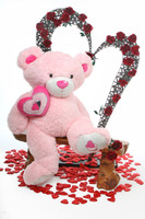Pink Cutie Pie Big Love Teddy Bear 4ft