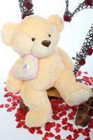 42in Cream Butterscotch Honey Pie Big Love Teddy Bear