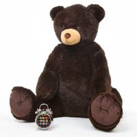 4ft Chocolate Brown Teddy Bear Baby Tubs