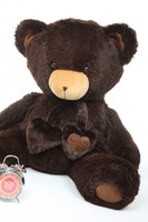 3ft Chocolate Big Papa Hugs Huggable Teddy Bear