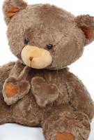 3ft Mocha Brown Huge Teddy Bear Cheeky Hugs