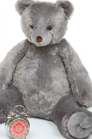 3ft Sugar Tubs Cuddly Grey Plush Teddy Bear