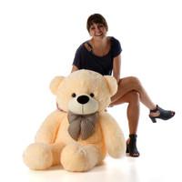 Cozy Cuddles cream teddy bear 46in