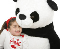 Huge Stuffed Animal Panda Bear by Giant Teddy Brand