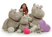 Giant Teddy Brand - Enormous Hippo Family