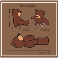 Cuddles 3ft Dimension