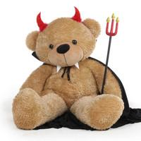Teddy Bear in Devil Costume