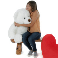 Sprinkle Chubs Teddy Bear 3Ft (Chair & Heart NOT included)