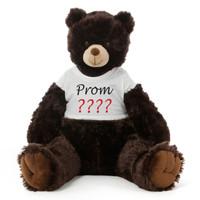 3½ ft Baby Tubs Cuddly Dark Brown Prom Teddy Bear (Prom ????)