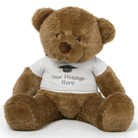 48in Personalized Chubs Graduation Bears, 6 fur colors