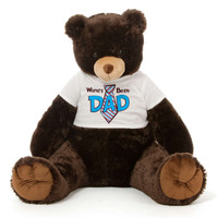 Dark Brown Teddy Bear Gift For Dad