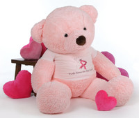 Breast Cancer Awareness Giant Pink Teddy Bear