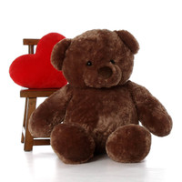 Big Chubs Mocha Brown Teddy Bear 48in
