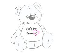 Let's Do Prom? Giant Teddy Bear shirt