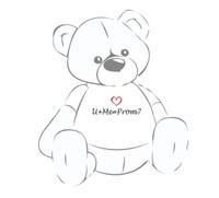 U+Me=Prom? Giant Teddy shirt