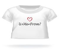 Giant Teddy shirt U+Me=Prom?
