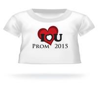 I love you Prom 2015 Giant Teddy Bear T-shirt