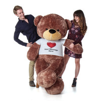 Perfect Valentine's  Day Gift for Girlfriend - Life Size Teddy Bear!