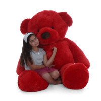 72in red Giant Teddy Bear cuteness perfect gift  Valentine's Day Christmas
