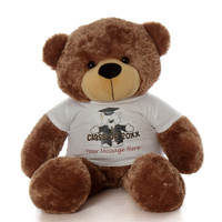 48in Sunny Cuddles Graduation Class of 2019 Teddy Bear