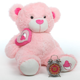 Pretty Pink Giant Life Size Teddy Bears Giantteddy Com