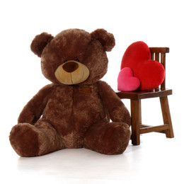 48 Inch Life size Brown Huge Teddy Bear
