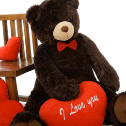 Baby Tubs 42in Teddy Bear with Red I Love You Heart