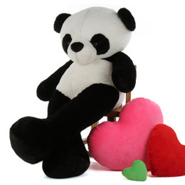 5 foot Giant Panda Bear Precious Xiong