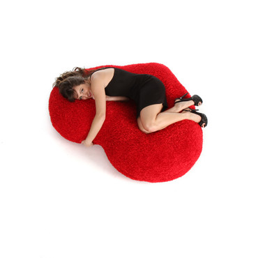 56in Massive Heart Cushion for Valentine's Day